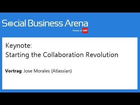 #cebitsba 2014 | Keynote: Starting the Collaboration Revolution | Jose Morales, Atlassian
