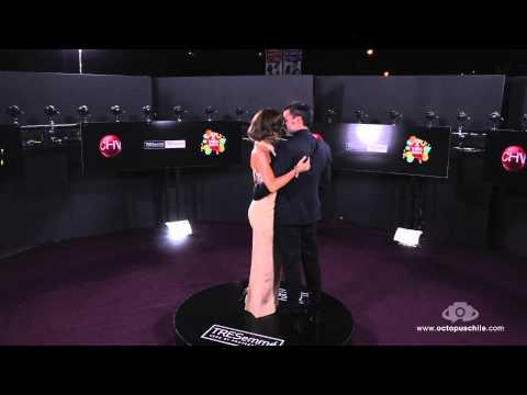 Diana Bolocco y Cristian Sanchez