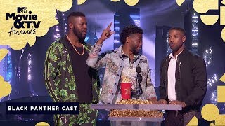 'Black Panther' Wins Best Movie | 2018 MTV Movie & TV Awards - MTV