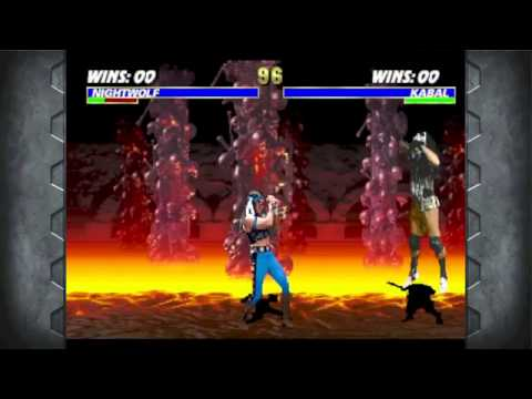 Mortal Kombat Arcade Kollection Gameplay