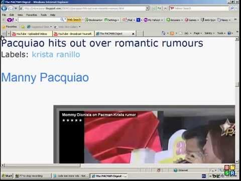 pacquiao hits out over romantic rumours with krista ranillo
