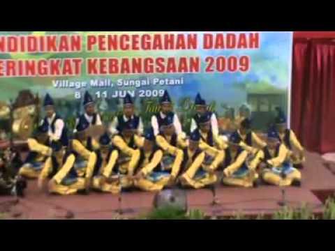 Johan Dikir Barat Anti Dadah Kebangsaan 2009 - Kelantan [1 2]