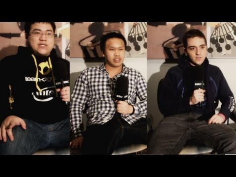 IEM Hanover Interview - Inside Three Pro's Minds: Ocelote, Reginald & Scarra