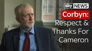 Corbyn: Respect & Thanks For Cameron - SKYNEWS