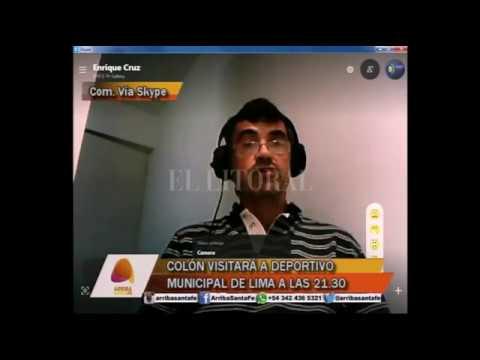 COLÓN VISITAR� A DEPORTIVO MUNICIPAL DE LIMA A LAS 21.30