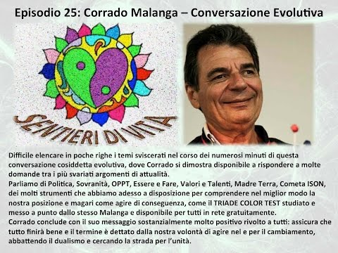 Ep.25 Corrado Malanga - Evoluzione (made with Spreaker)