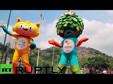 Brasil presenta a las mascotas de las Olimpiadas Río 2016