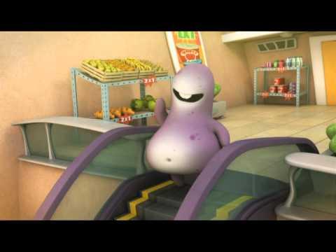 Glumpers desenhos divertidos, videos engraçados - Escada Rolante