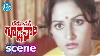 Rahasya Gudachari Movie Scenes - Jayaprada Recognises Her Brother's Locket    Krishna    Jayaprada - IDREAMMOVIES