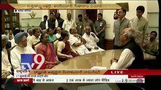 Presidential Polls-Meira Kumar files nomination