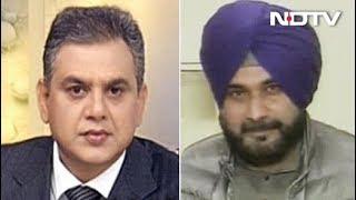 NDTV के इस सवाल पर शो छोड़कर चले गए सिद्धू - NDTVINDIA