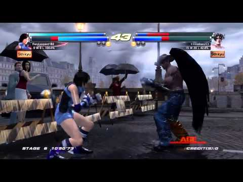 Tekken Tag Tournament 2 - [Medium - Arcade Battle] - Asuka & Jun Playthrough
