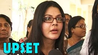 Rakhi Sawant UPSET with voting officials