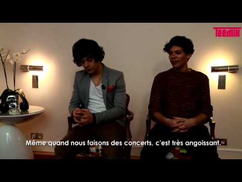One Direction speaking French (Teemix interview HD 1/4)