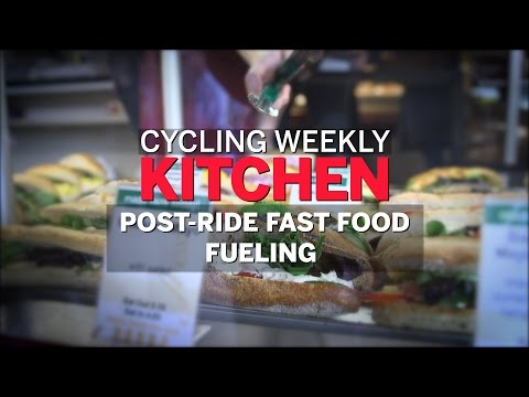 Post-Ride Fast Food Fueling | Cycling Weekly