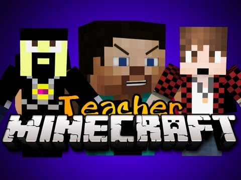 Minecraft: NEW TEACHER MINIGAME! - Game 3 - w/ AntVenom, BajanCanadian and MORE! - EVIL TEACHER!