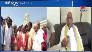 TDP MLA Sandra Venkata Veeraiah Face To Face Over His TTD Bord Post | CVR News - CVRNEWSOFFICIAL