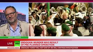 'Not the bombshell we expected': Martin Jay on Erdogan's Khashoggi death probe speech - RUSSIATODAY