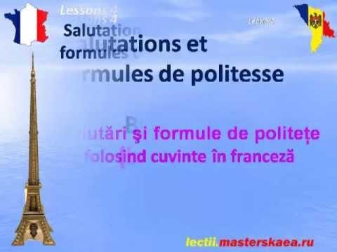 Lectii de Franceza Lectia 4