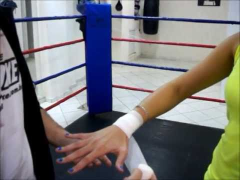 VIDEO AULA: Ataduras para treino de boxe (Wrap Hands for Training)