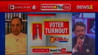 Subramanian Swamy Exclusive Interview over Lok Sabha Election 2019 Phase 3 Voting Day - NEWSXLIVE