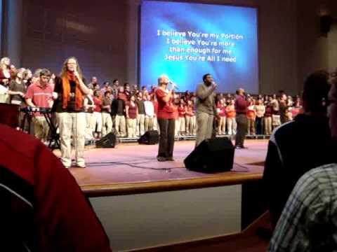 'Healer' in Cedarville chapel