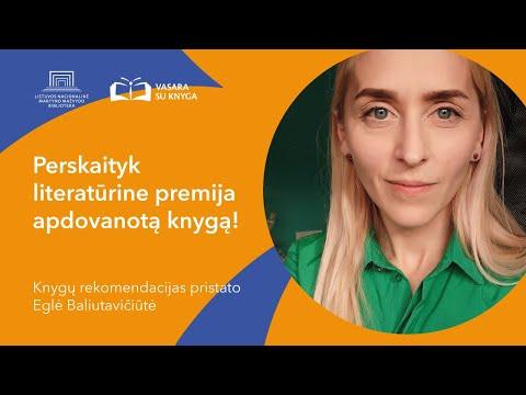 Lietuvos nacionalinė biblioteka. Perskaityk literatūrine premija apdovanotą knygą