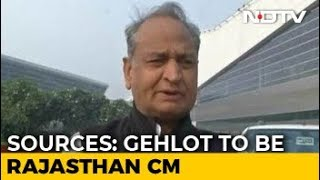 Ashok Gehlot To Be Rajasthan Chief Minister, Announcement Soon: Sources - NDTV