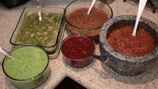 Como hacer salsas picantes Mexicanas