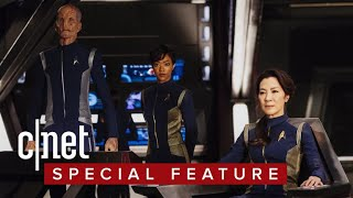 'Star Trek: Discovery' actors geek out about phasers, just like us - CNETTV