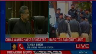 China wants pakistan to relocate Hafiz Saeed to a west asian Country - NEWSXLIVE