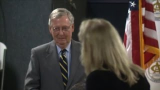 Woman berates McConnell at luncheon - CNN