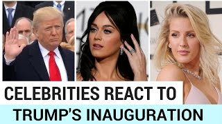 Celebrities React to Trump's Inauguration - HOLLYWIRETV