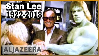 🇺🇸Comic book genius Stan Lee, creator of Spider-Man, dies at 95 | Al Jazeera English - ALJAZEERAENGLISH