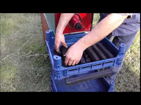 Mangal Kömürü Makinası