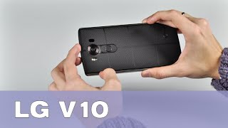Обзор LG V10