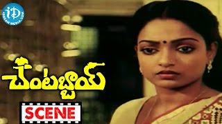 Chantabbai Movie Scenes - Chiranjeevi Comedy || Suhasini || Allu Aravind || Jandhyala - IDREAMMOVIES