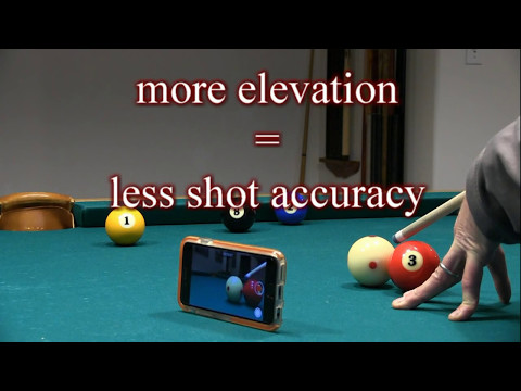 Elevated-Cue Pool and Billiards Shots ... Are They Legal?