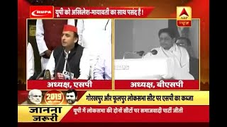 Kaun Jitega 2019: SP-BSP alliance and UP bypoll results ring alarm for BJP - ABPNEWSTV