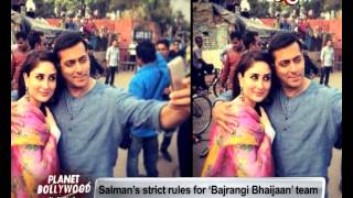 Salman Khan's strict rules for 'Clean India Campaign' | Bollywood News