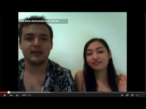 justin and Ivy - Down Under Visa clients