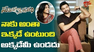 Sumanth Shocking Comments on Horror Movies | Eesha Rebba | TeluguOne - TELUGUONE