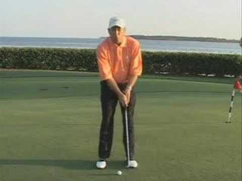 Golf Instruction - Putting Stroke : Tight = Success
