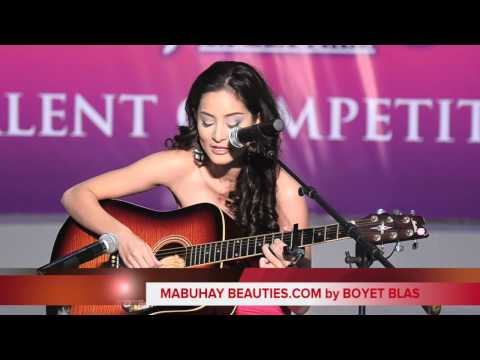 Queennie Rehman  @ Bb. Pilipinas 2011 Talent Competition