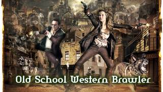 Royalty Free :Old School Western Brawler