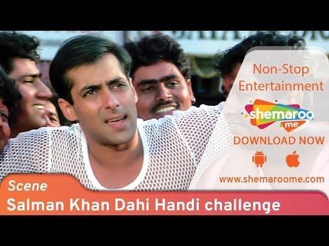 Salman Khan Dahi Handi challenge by Rani Mukerji - Hello Brother - Janamashtmi Special - صوت وصوره
