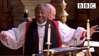 Bishop Michael Curry's captivating sermon - The Royal Wedding - BBC - BBC