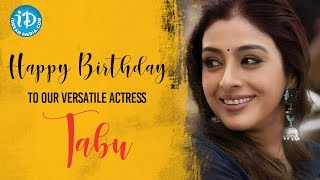 Wishing You A Very Happy Birthday To Our Versatile Actress Tabu From iDream Media - IDREAMMOVIES