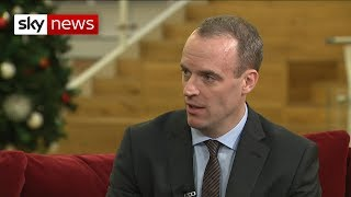 Dominic Raab: 'The UK should have a backstop exit plan' - SKYNEWS