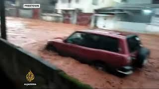 Witness describes 'disaster' in Sierra Leone's Freetown - ALJAZEERAENGLISH